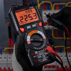 Multimètre numérique professionnel, haute précision, 6000 comptes, 1000V AC DC, Ohm Hz NCV Live C/F, compteur de tension