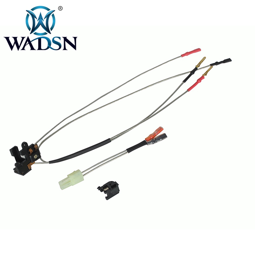 WADSN LARGE CAPACITY SWITCH ASSEMBLY For M4 AR15 Ver.2 Gearbox Front/Rear Wiring Airsoft AEG Tamiya Plug Paintball Accessories