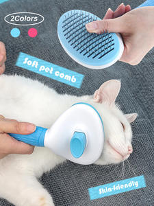Cat Flea Comb Trimmer Hair-Removal-Comb Hair-Brush Grooming Toll Dog Pet-Products Automatic