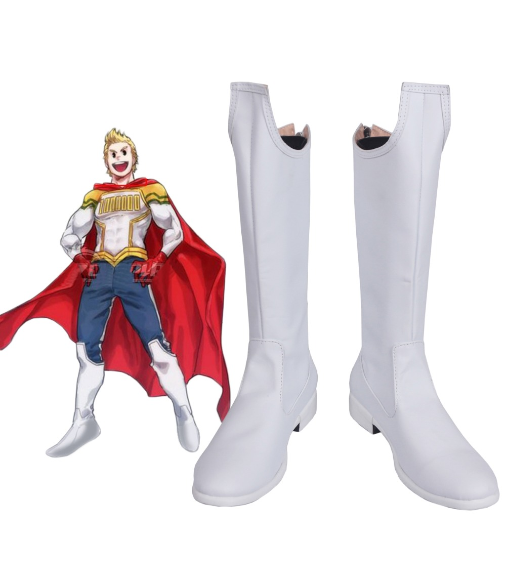 Costumebuy My Hero Academia Boku no Hero Akademia <font><b>Mirio</b></font> Togata <font><b>Cosplay</b></font> Million Shoes Costume Boots Accessory Halloween AnySize image