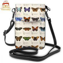 Motyl torba na ramię skórzany w motylki torba wysokiej jakości torebki damskie nastolatek kobiety wzór ślubu modna torebka