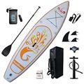 Надувные подставные весла 10x31x6 дюймов, аксессуары для sup-серфинга, дорожный рюкзак, Нескользящие регулируемые весла, поводок и плавник