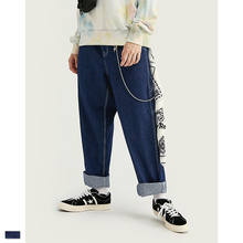Cooo Coll 19SS Kanye West denim Jeans Slim Fit Hip Hop Skinny Biker Joggers Streetwear Classic loose Jean Long Pants