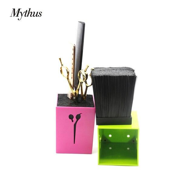 4 couleurs ABS détachable cheveux porte-ciseaux mode et bonne recherche cheveux cisaillement Case coiffure Salon outils accessoires
