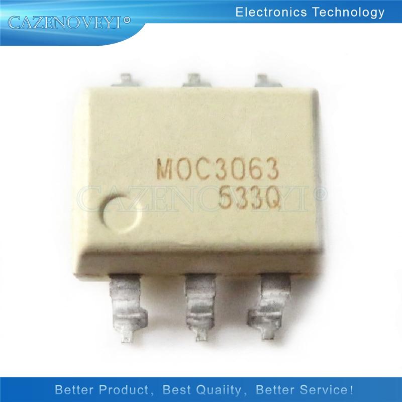 10 pçs/lote MOC3063 3063 SOP 6 Em Estoque|Circuitos integrados|   -