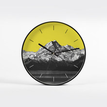 Silent Modern Art Wall Clock Mute Designer Wall Clocks Horloge Murale Watch Reloj Household Items Design Quartz Creative L(China)
