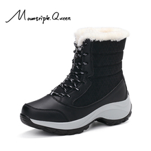 Shoes woman Snow boots New Fashion Gao Gang  Winter Short plush warm waterproof Women boots Snow boots ankle boots women shoes цены