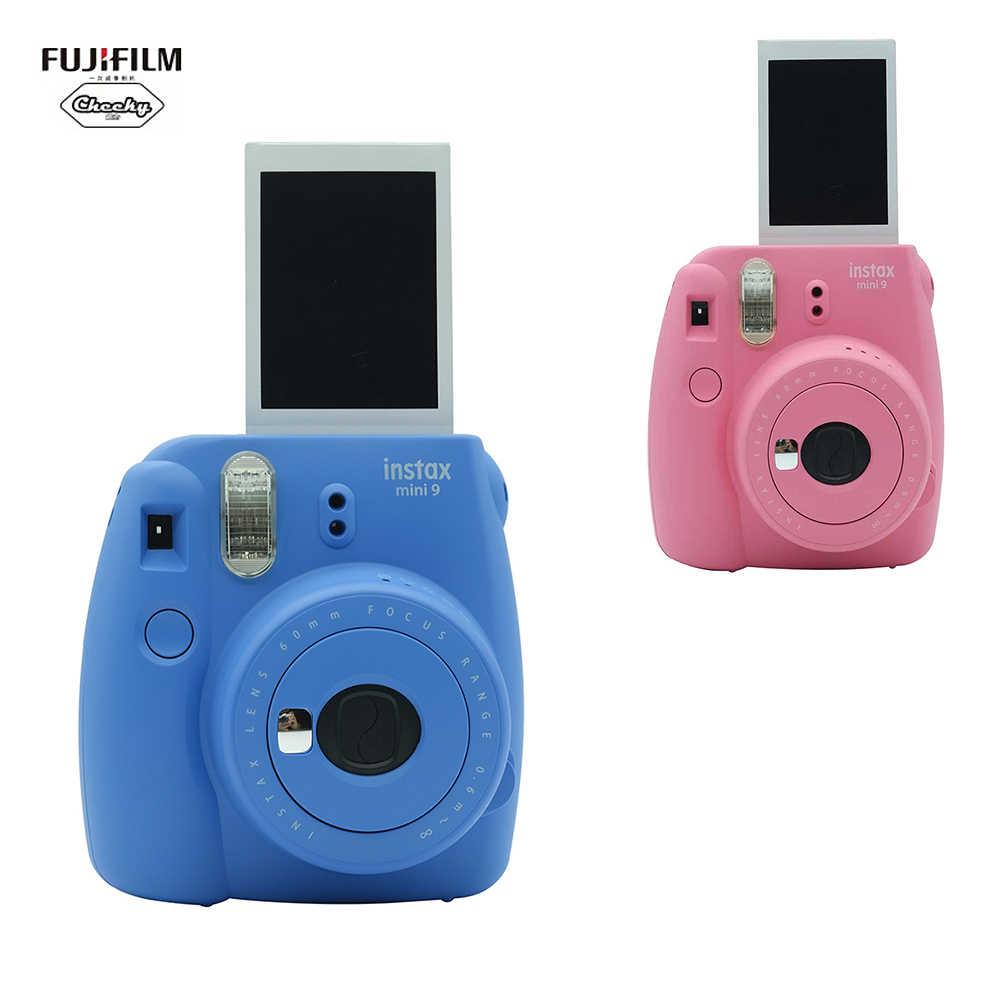 FUJIFILM Instax Mini 9 Kamera Film Hadiah Bundle Mini9 Ulang Tahun Hadiah Tahun Baru Natal Versi Update & Selfie Cermin