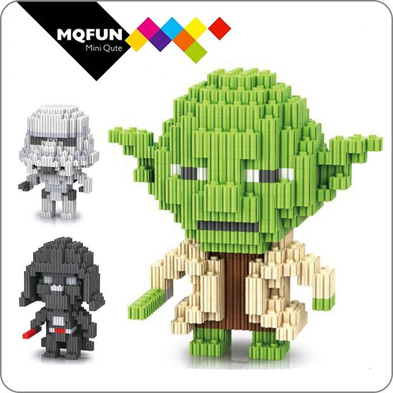 Mega Discount Fe723 Linkgo Building Blocks Yoda Action