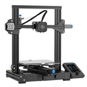 Image 2 - Ender 3 V2 3D Printer Kit Updated Self Developed Silent Mainboard Creality 3D Smart Filament Sensor Resume Printing.