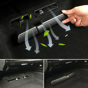For Skoda Kodiaq 2016 2017 2018 Dust cover Car Rear Seat Air Conditioning Vent Cover Net 2PCS/Set Car Air Outlet Cover image