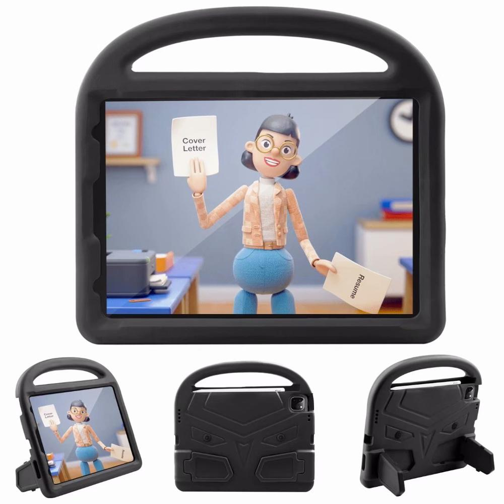Black Green Kids Shockproof EVA Case For iPad Pro 11 2nd Gen 2020 Case Cartoon Handle Stand A2228