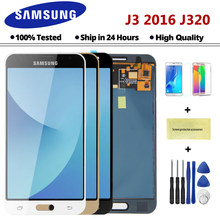 5.0'' inch J320F LCD For Samsung Galaxy J3 2016 J320 Display J320A J320FN J320M LCD Display Touch Screen Digitizer Assembly(China)