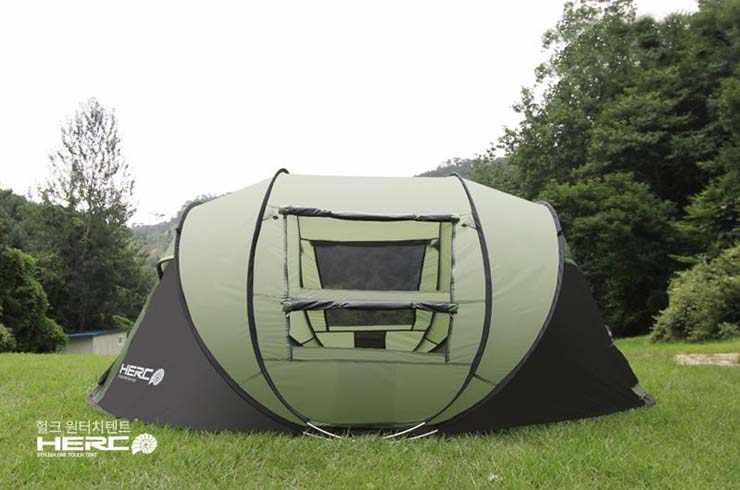 طراز جديد لعام 2019 خيمة تخييم للعائلة خارجية للشاطئ والصيد والتنزه مقاومة للمطر من 5 إلى 6 أشخاص أوتوماتيكية ذات مساحة كبيرة