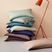 Egyptian Cotton 600TC Sleep Pillowcase Pillow Case Long pillowcase Good Quality Home Pillow Cover 48*74cm/48*120cm/45*150cm#a