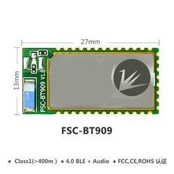 FSC-BT909 дистанционный Bluetooth двухрежимный модуль передачи данных SPP/BLE/HFP