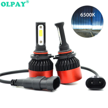 2PCS Car headlight Mini Lamp H7 LED Bulbs H4 LED H1 H7 H8 H11 Headlamps Kit 9005 HB3 9006 HB4 For Auto 12V LED Lamp 60W 6500K ev12 car headlight led h7 h4 h1 9005 hb3 9006 hb4 h11 60w 6000lm auto dob led lamp 12v ice blue car light plug and play