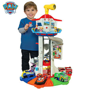 Puppy-Headquarters-Toy Tower-Toys-Set Paw Patrol Music-Patrulla Oversized-Tower Gift