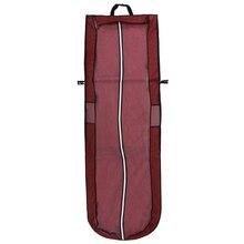 Непромокаемая длинная сумка для хранения свадебных платьев