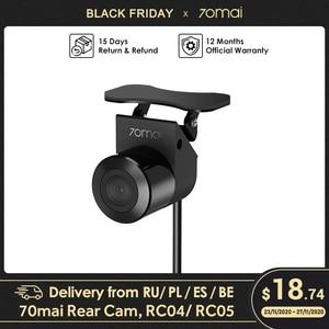 70mai Backup Camera for 70mai Rearview Cam Wide: RC04 70mai HD Backup Camera/ RC05 70mai Night Vision Backup Camera