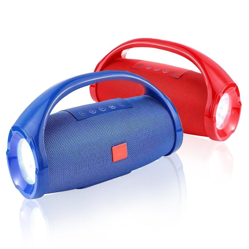 Купить наружный bluetooth динамик портативный светодиодный фонарик