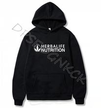 Spring Autumn Herbalife Hoodie Herbalife nutrition Coat Hoodie Logo Herbalife Graphic Men and women Sweatershirt A16 eyelet drawstring graphic hoodie