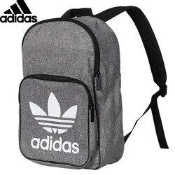 Оригинальный Adidas BP класса Повседневная унисекс рюкзаки спортивный рюкзак Серый спортивные сумки D98923