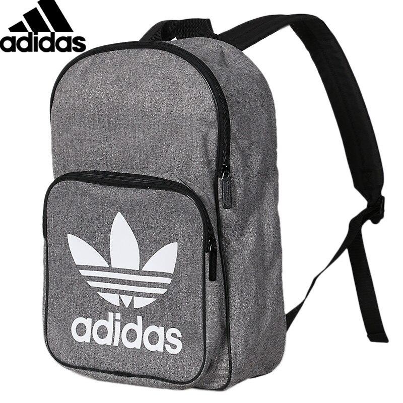 Original Adidas BP clase CASUAL Unisex mochilas mochila de gimnasio gris bolsas deportivas D98923
