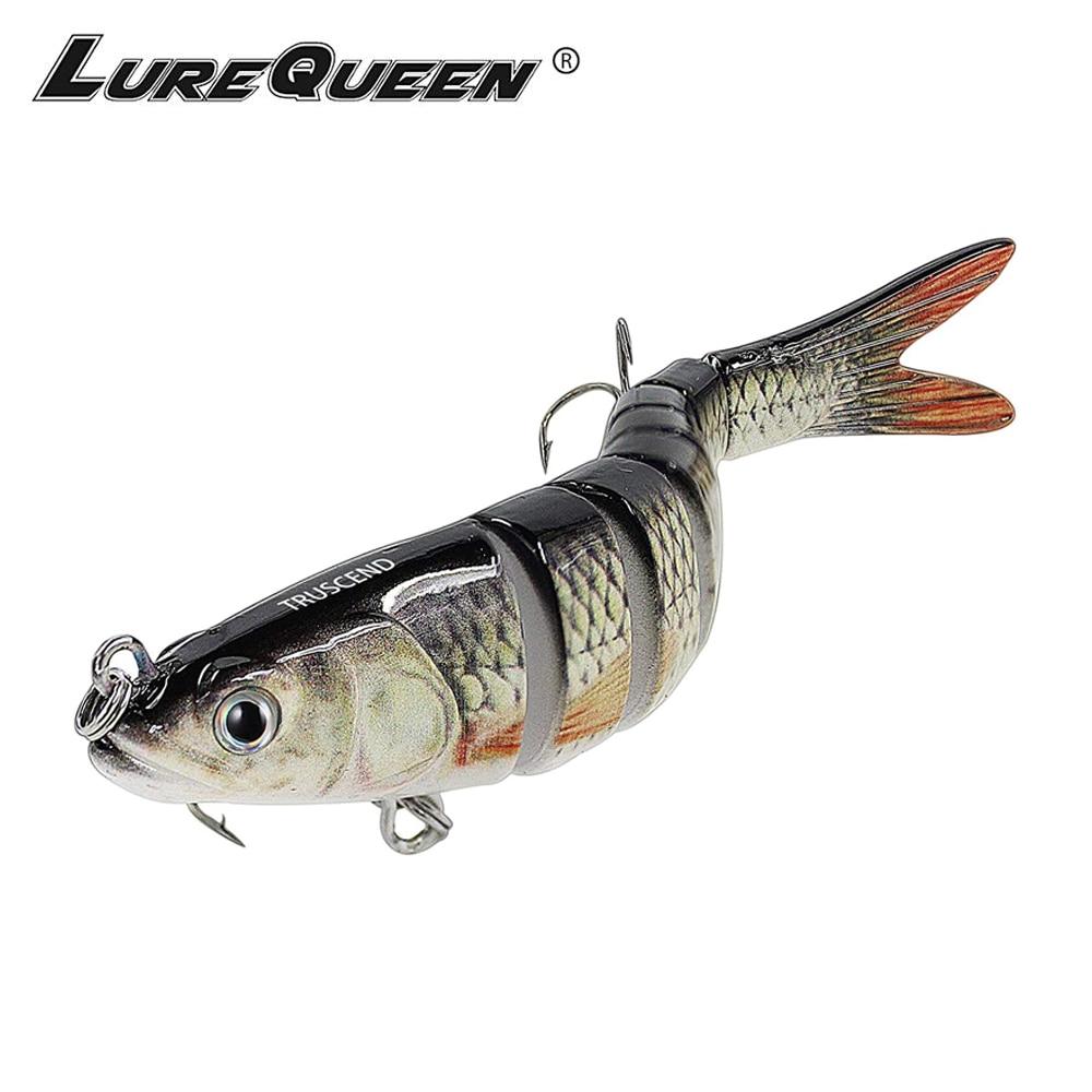 Details about  /9.5cm 16g Artificial Bait Treble Hooks Bionic Bass Baits Select colors