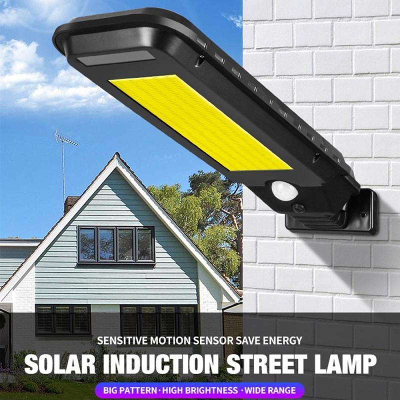 Dreamburgh 210COB Solar Light Outdoor Waterproof Infrared PIR Motion Sensor Solar Wall Light Garden Lighting LED Street Light