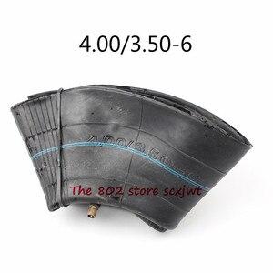 Внутренняя Трубная шина хорошего качества 4,00/3,50-6 с прямым штоком для электронного велосипеда, тачки, скутера, мини-мотоцикла, косилки