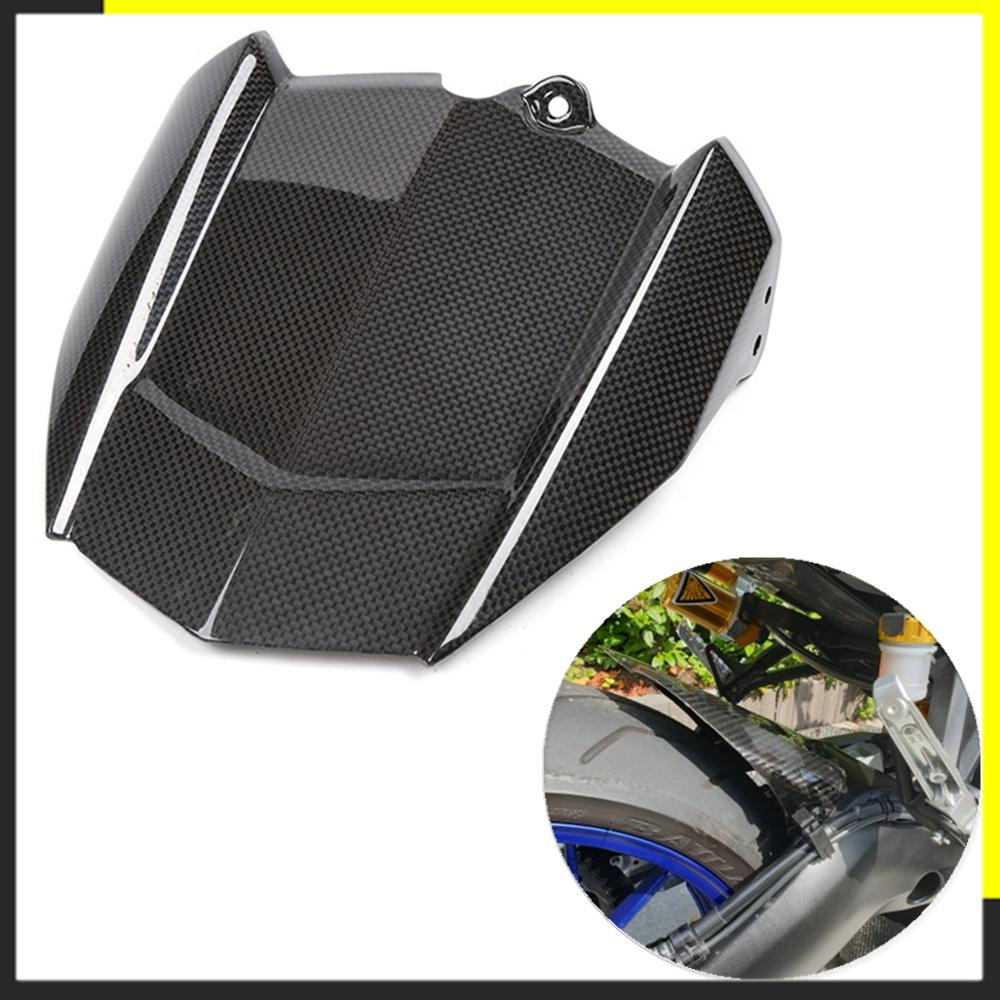 Motorcycle Carbon Fiber Rear Fender For Yamaha MT09 MT 09 MT-09 2014 2015 2016 Cover Mudguards Splash Mud Guard
