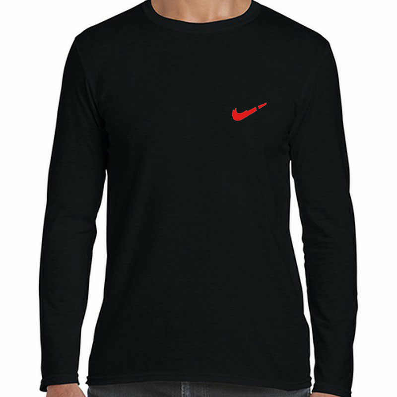 2019 dos homens T-shirt 2019 novo melhor impressão Do Logotipo de alta qualidade longo-manga comprida T-shirt dos homens da camisola dos homens algodão casual wear