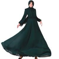Fashion Luxuriou Chiffon Islamic Dress Turkish Women Clothing Abayas for Women Slim Abaya Saudi Dress Muslim Dubai Dress