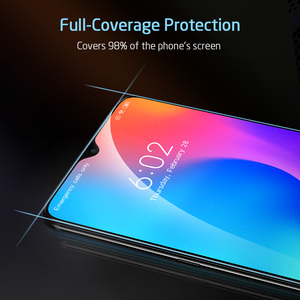Image 4 - Protezione Dello Schermo per Xiaomi Mi ESR 8 9 Pro SE CC9e 3D Copertura Completa Proteggere Anti Blu ray Temperato vetro per la Nota Redmi 7 8 K20 Pro