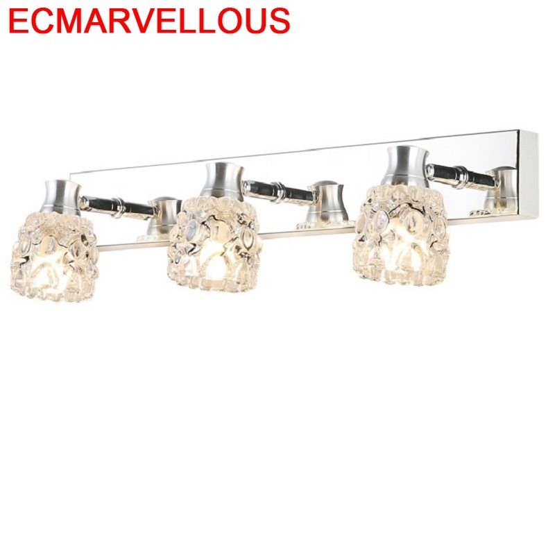 Table De Sconce Loft Decor Lampara Stair Light Crystal LED Applique Murale Aplique Luz Pared Wandlamp Luminaire Wall Lamp|Wall Lamps| |  - title=