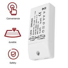 85-265V в 12V Светодиодный драйвер Питание TS-090 прочный Напряжение трансформатор для MR16 MR11 Портативный преобразователь питания