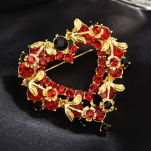 Brooch Pin Dress coat Accessories gifts for women enamel pin Crystal brooches for women pins 2020 New Fashion Jewelry hijab pins fashion bird brooches colorful enamel rhinestone crystal for women trend bird brooch pins jewelry accessory wedding bride
