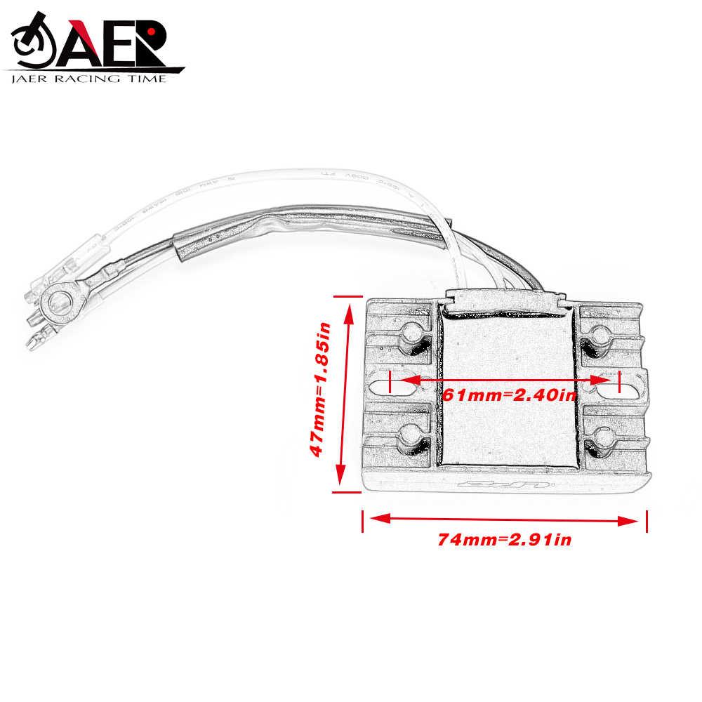 JAER подвесной двигатель регулятор напряжения Выпрямитель для Suzuki DF15 2004-2012 DF9.9 2005-2009 32801-94J00 32801-94J01