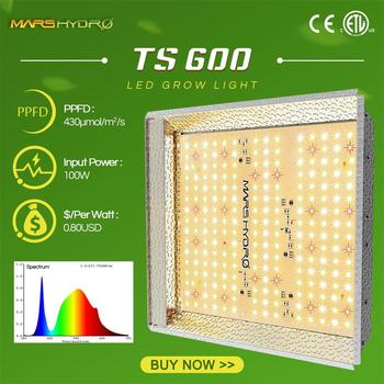 TS 600W Mars hydro Full Spectrum LED grow light Sunlike Replace quantum HPS Indoor Hydroponic plants growing lamp lights board