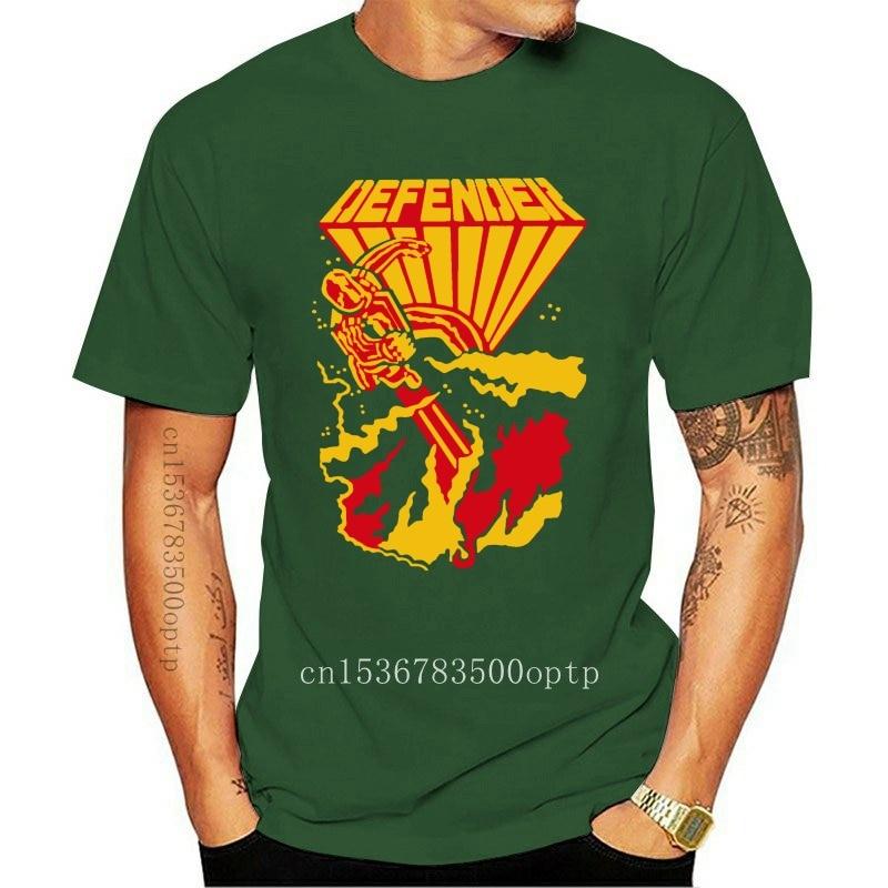 Defender Cabinet Art, Retro Arcade, Williams G200 Ultra Cotton T-Shirt New Unisex Funny Tops Tee Shirt