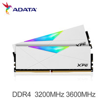 ADATA DDR4 RAM XPG SPECTRIX D50 RGB MEMORY MODULE 8GB 16GB 3200MHz 3600MHz PC Desktop Memory