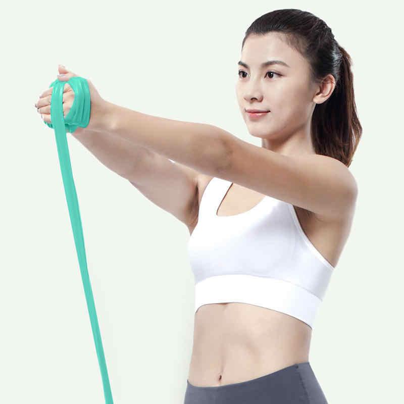 Xiaomi Mijia YUNMAI TPE Yoga resistencia Mi bandas ejercicio Correa alta elasticidad banda piel amigable entrenamiento equipo de Fitness