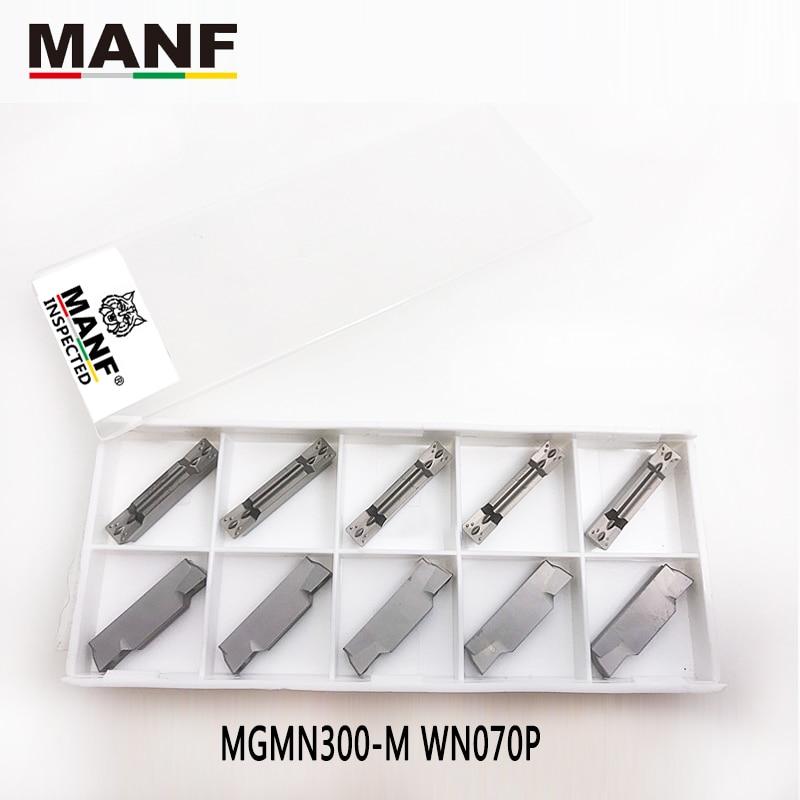 MANF Turning Tool Carbide Insert MGMN150 MGMN200 MGMN300 Cut Off Grooving Tool Carbide Insert For MGEHR1212 MGEHR2020 Holder