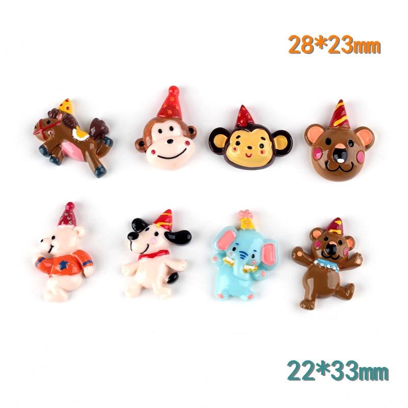 10pcs//set Black Clown Doll Hat Gifts Crafts Accessories DIY Decorative Materi Nt