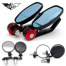motorcycle mirror accessories 22mm handlebar end mirror for
