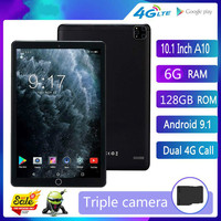 New 128G MID Global Bluetooth Wifi phablet Android 8.0 10 inch tablet Deca Core 6GB RAM 128GB ROM Dual SIM Cards Tablet 10