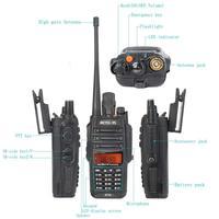vhf uhf נגד אבק Waterproof ווקי טוקי IP67 Retevis RT6 Dual-Band 5/3 / 1W VHF + UHF 136-174Mhz + 400-520Mhz FM רדיו שני הדרך רדיו A9114A (4)