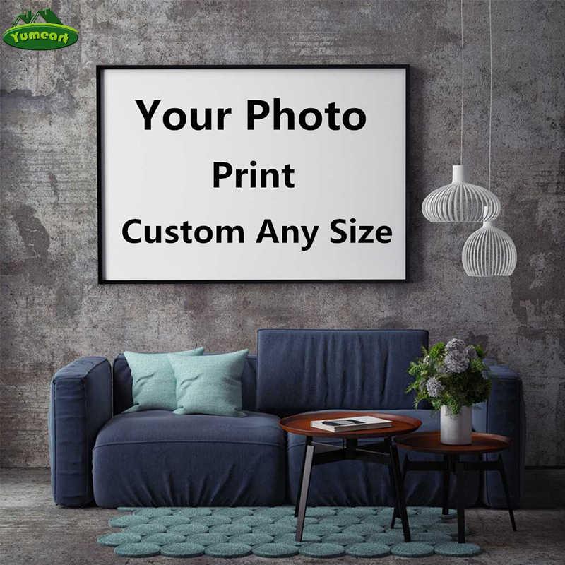 Foto impressões personalizadas sua imagem, família, amigos foto do bebê, imagem favorita, fotos do casamento poster impressão personalizada na arte da lona