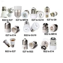 Giá Đỡ Đèn B22 E27 Để GU10 G9 E14 MR16 Đèn Ổ Cắm Bộ Chuyển Căn Cứ Ổ Cắm 0 240V 60W D40